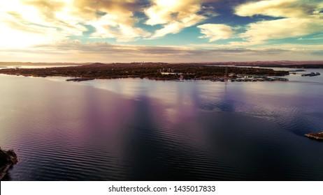 Sunrise at Lake Travis in Lago Vista Texas
