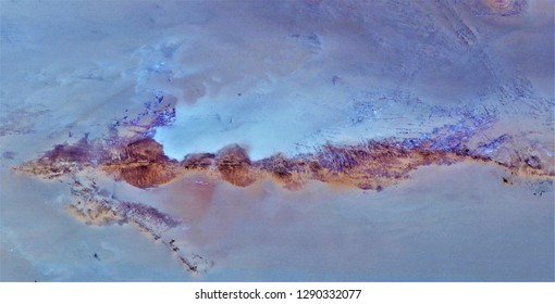 sunrise in the lake village, tribute to Matisse,  abstract photography of the deserts of Africa from the air, aerial view, abstract naturalism, contemporary photographic art,