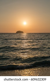 Sunrise at Lipe island (Satun province, Thailand)