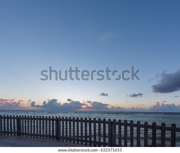 Sunrise Mahahual Quintana Roo Mexico Stock Photo Edit Now 632371655