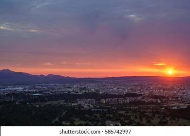 Sunrise, Majorca Spain