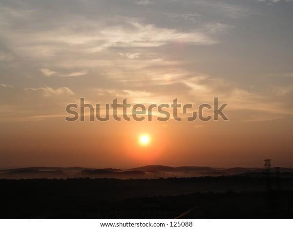 sunrise of Malaysia UTM