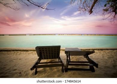 sunrise at maldives