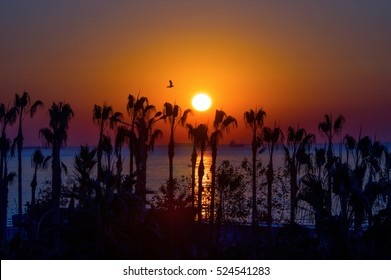 Sunrise in Mersin