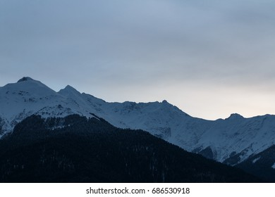 Sunrise in mountains 4