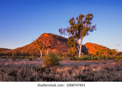 Sunrise near Alice Springs, Australia