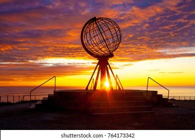 Sunrise at North Cape