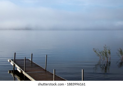 Sunrise Northern Lake in Saskatchewan Canada scenic