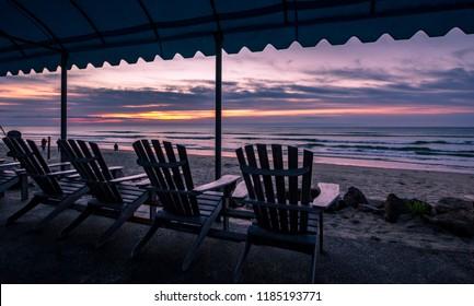 Sunrise in Ogunquit, Maine