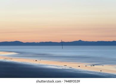 sunrise on bibione beach