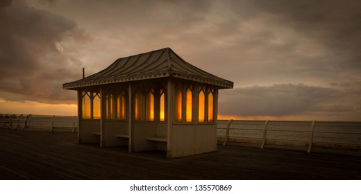 Sunrise on Cromer Pier