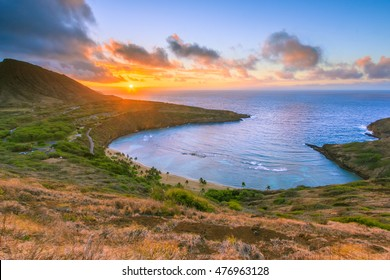 Sunrise on Oahu