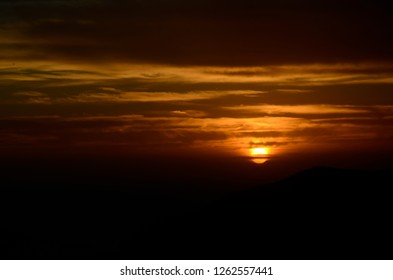 Sunrise on one of the peaks of Arraial do Cabo. Arraial do Cabo is a municipality located in the Brazilian state of Rio de Janeiro.