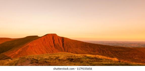 Sunrise on Pen Y Fan, South Wales