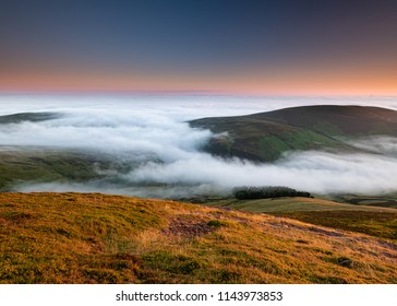 Sunrise on the Pentland Hills