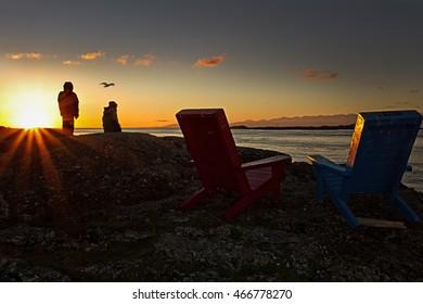 Sunrise on The West Coast