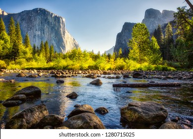 Sunrise on Yosemite Valley, Yosemite National Park, California