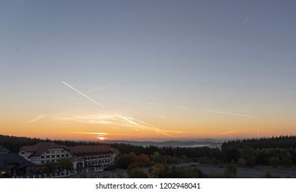 Sunrise over Nürburgring