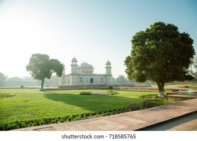 Sunrise over Baby Taj Mahal