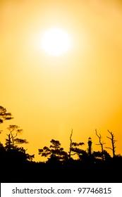 Sunrise Over Cape Charles Lighthouse