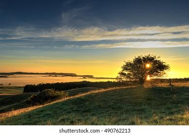 Sunrise over Great Zicker on Rügen Island !!