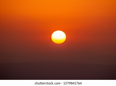 Sunrise Over Mountains of Balochistan