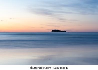 Sunrise over the ocean - Mudjimba Island
