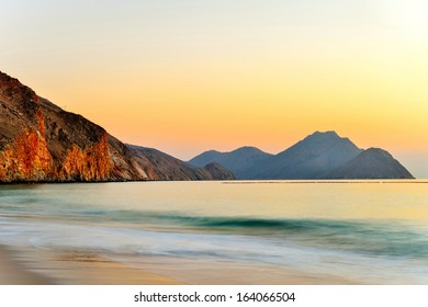 Sunrise over the Ocean in Oman