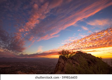Sunrise over Phoenix, Arizona