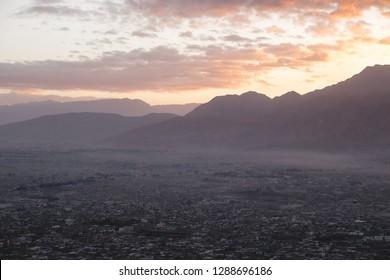 Sunrise over Quetta