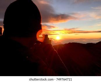 Sunrise Over the Shoulder