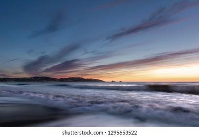 Sunrise over Torbay in Devon