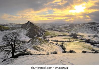 Sunrise at Parkhouse Hill, Peak District National Park