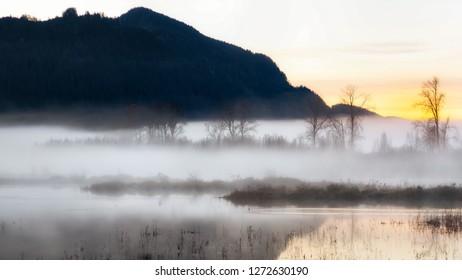 Sunrise at Pitt-Addington Marsh