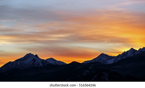 Sunrise in the Polish Tatra mountains