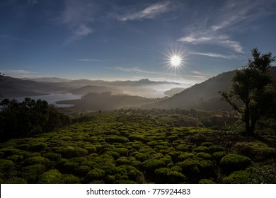 Sunrise at Red Hills.  Red Hills is around 35 kms from Ooty, route leading to this place is breathtaking with lush green country side. One of the most amazing place.