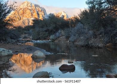 Sunrise in Red Rock Canyon, Nevada