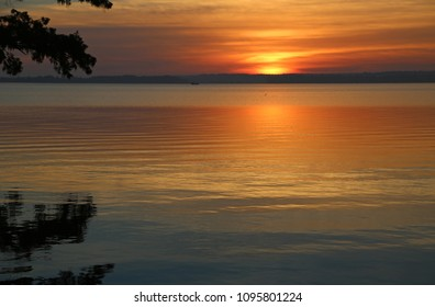 Sunrise reflection - Reelfoot Lake State Park, Tennessee