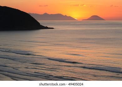 Sunrise in Rio de Janeiro