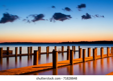 Sunrise at Rogue's Harbor,Elk Neck State Park,Cecil County,Maryland