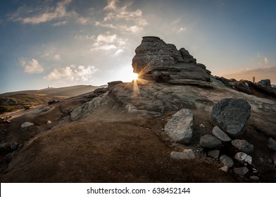 Sunrise at the Romanian Sphinx