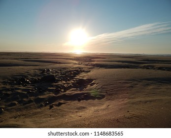 sunrise sand crevice
