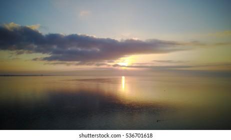 Sunrise at Sanibel Island Beautiful Beach Sunrise Near Lighthouse