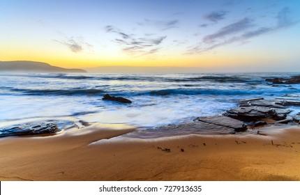 Sunrise Seascape - At Killcare Beach, Central Coast, NSW, Australia