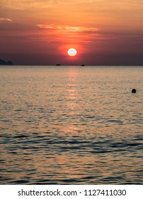 Sunrise Seascape - Overlooking the South China Sea from the beach at The Anam Resort, Cam Ranh, Nha Trang, Vietnam