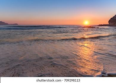 Sunrise Seascape - Taken at Avoca Beach, Central Coast, NSW, Australia