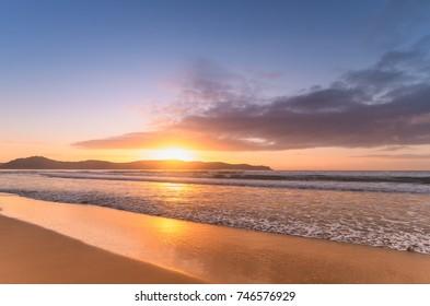 Sunrise Seascape - Taken at Umina Beach, Central Coast, NSW, Australia