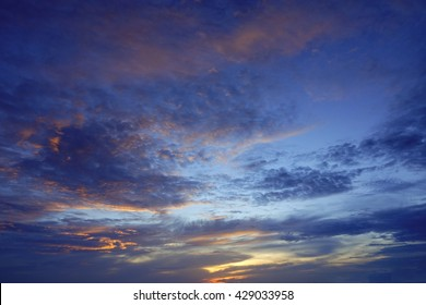 Sunrise sky,Beautiful sky,select focus with shallow depth of field:ideal use for background.
