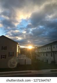 Sunrise in Suburbia