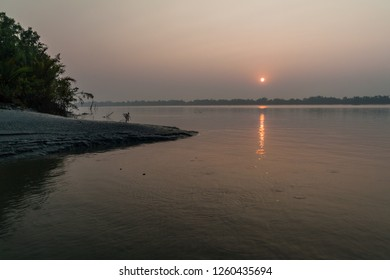 Sunrise in Sundarbans, Bangladesh